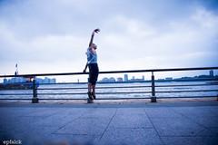DSC_5112 (epfalck) Tags: nyc blue dance rivers runner chelseapier maledancer nikond610