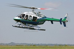 N199F (johnmorris13) Tags: bell helicopter bellhelicopters bell407 comptonabbas egha n199f