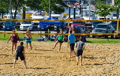 2014-07-04 BBV Hat Draw Tournament (102) (cmfgu) Tags: holiday net beach sports ball court md sand outdoor 4th july maryland baltimore tournament volleyball coed athlete fourth independenceday league 4s innerharbor fours bbv rashfield hatdraw