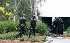 National Gallery of Australia,Sculpture Garden (10) (Lesley A Butler) Tags: sculpture australia canberra sculpturegarden act augusterodin theburghersofcalais nationalgalleryofaustralia