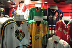 More National Jerseys (Bill Maksim Photography) Tags: winter etched food toronto ontario tower classic ice cup hockey glass roy cn gold penguins hall goal goalie downtown tour adams fame gear mario location ceiling arena kings richard stanley winner hours rocket bruins olympic kane hull messier leafs canadians flyers orr canadiens address presidents hold esposito jagr malkin crosby hasek howe gretzky yzerman bossy forsberg overtime maksim ovechkin reigning lundqvist hhof sakic datsyuk connsmythe