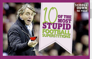 10 of the Most Stupid Football Superstitions