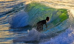 Surfing on the green wave (Lior. L) Tags: