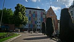 Random photo in Leuven (Vintage Nexgrapher) Tags: leuven belgium sony uzleuven sonynex
