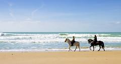 Paseo a Caballo (lacarmela_rooms) Tags: sea summer costa luz relax caballos mar andalucía rooms enjoy verano carmela cádiz vacaciones descanso alquiler vejer habitaciones
