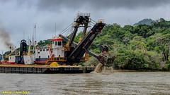 Gamboa, Panama: Expansion dredging activities (nabobswims) Tags: panama gamboa hdr highdynamicrange expansion panamacanal nabob nabobswims