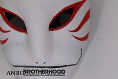 Hatake Kakashi ANBU mask (anbuconnect) Tags: cosplay handmade clay sakura naruto sasuke sharingan kakashi shinobi obito anbumask anbublackops knowledgepeddler anbubrotherhood