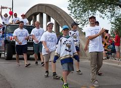 Canada Day Parade 1 (Phil Armishaw) Tags: copyright cup hockey phil profit sutherland caledonia champions 2014 oha corvairs armishaw gojhl