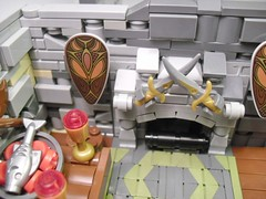 LOM: Confrontation at the Falcon Tavern (Julia LeeP) Tags: legos lom mocslom63014