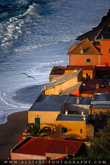 Houses by the sea 2 (Giovanni Allievi Photography) Tags: ocean houses red sea summer vacation italy orange house holiday tourism home water beautiful yellow architecture rural swimming relax landscape hotel coast europe exterior view outdoor liguria country sunny location villa destination leisure residence picturesque summerhouse varigotti