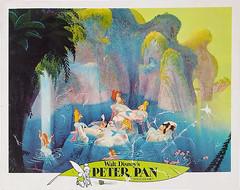 Peter Pan re-release lobby card, 1969 - mermaids (Tom Simpson) Tags: 1969 vintage advertising peterpan disney advertisement animation mermaid lobbycard vintagedisney