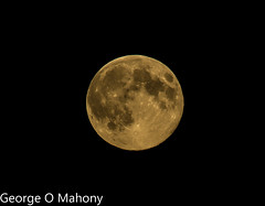 Super moon (George O Mahony) Tags: supermoon moon