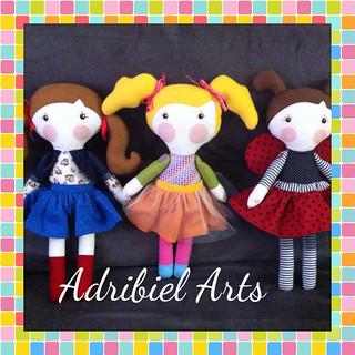 Bonecas Serelepes  Inspiradas nas bonecas de Gigi Serelepe.