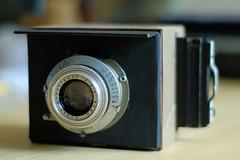 Homemade Kodak Reflex II (robertlhinson) Tags: reflex kodak antique gear 2x3 homemadecamera
