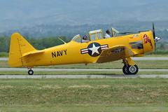 SNJ-4 Texan N763V (skyhawkpc) Tags: colorado aircraft aviation navy fortcollins loveland co naval usnavy usn allrightsreserved texan fnl 2014 northamerican snj4 kfnl fortcollinslovelandmunicipalairport 51381 garyverver n763v majordistraction