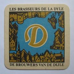beermat (streamer020nl) Tags: leuven carton 1970s coaster louvain bierdeckel dyle brouwers dijle bierviltje untersetzer lamot bierfilz biermat brausseurs