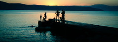 untitled (Zimthiger) Tags: shadow summer people silhouette canon candid sommer silhouettes croatia menschen schatten mediterraneansea krk mittelmeer glavotok zimthiger isleofirk