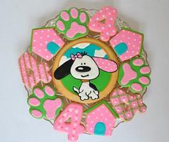Cute dog themed girl's birthday party!