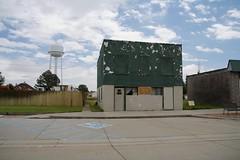Block (Nicolas -) Tags: door city travel usa building window architecture america town holidays unitedstates roadtrip burns walls wyoming 2014 nicolasthomas