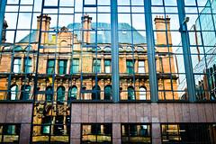 Glasgow (elena's nice pics) Tags: summer reflection window architecture scotland nikon glasgow august artnouveau mirrow d3200