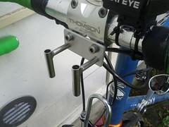 DIY decaleur (immu) Tags: diy stem faceplate thomson veloorange decaleur bikerandonneur