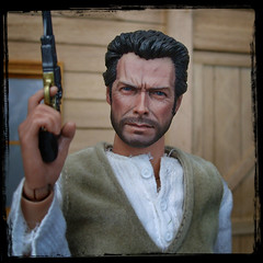 The Return of The Cowboy (MiskatonicNick) Tags: cowboy 16 custom clinteastwood sculpt headsculpt sixthscale playscale