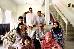 Aidilfitri 2014 (phalinn) Tags: family people baby festival kids canon religious eos 50mm events muslim islam eid sigma son malaysia gathering kualalumpur raya kampung hari adults kl 1022mm salam zahir aidilfitri melayu malay cheras ampang maaf balik