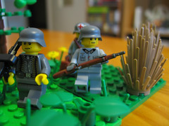 pologne9 (Franckfbe) Tags: lego poland german ww2 invasion pologne wehrmacht militaires allemands brickarms