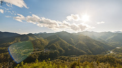 Sunny Valley (Mario Tomasino) Tags: sunset sky cloud sun mountain alps green canon sunny 14mmf28 valley 1ds mkiii 14mm vi samyang canoneos1dsmkiii
