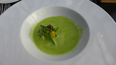 Asparagus veloutè, sweetcorn ganache (Erik Hartberg) Tags: food asparagus 30stmaryaxe thegherkin searcys asparagusveloutè