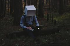 2/365 (Hapast) Tags: portrait art forest artist box surrealism surreal 365 surrealistic 2014 365days macbook