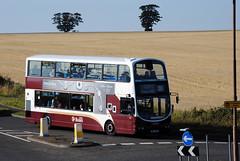 845 (Callum's Buses & Stuff) Tags: pink bus buses volvo edinburgh gemini lothian madder lothianbuses gemini2 edinburghbus b9tl madderandwhite madderwhite