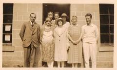 Portrait of a  Group 1921 (Bury Gardener) Tags: uk 1920s england blackandwhite bw vintage oldies 1921