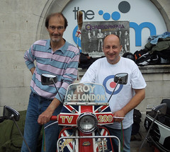 Ace Cafe Brighton Burn Up, Sept 2014 - We Are The Mods! (roger.w800) Tags: coast seaside brighton vespa scooter lambretta seafront mods acecafe brightonburnup modsandrockers