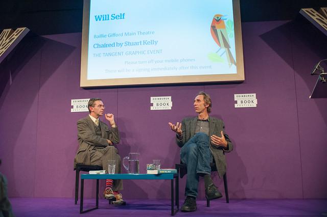 Will Self talks to Stuart Kelly about his latest novel Shark