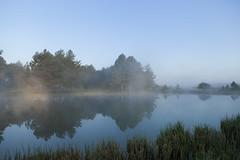 Le coin du pecheur (PatGentil) Tags: nature lac ciel paysages brume baiedesomme
