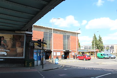 Alperton Station on Ealing Road (Snappy Pete) Tags: uk greatbritain england london architecture buildings transport tube trains brent londonunderground railways middlesex railroads wembley stations piccadillyline alperton tubestations northwestlondon undergroundstations