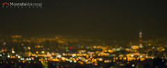 City of Bokeh (مصطفی یکرنگی) Tags: night iran bokeh tehran ایران شب تهران بوکه