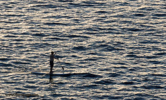 The Old Man And The Sea             IMG_2053bs (forum.linvoyage.com) Tags: sunset sea surf surfing   paddleboard