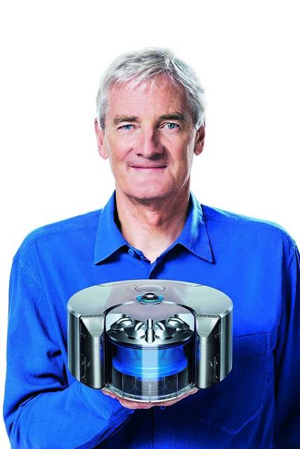 戴森創辦人James Dyson與Dyson智慧機器人