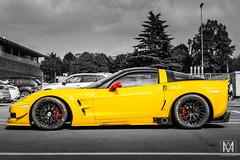 Chevrolet Corvette C6 (*AM*Photography) Tags: auto chevrolet car yellow nikon automobile racing special exotic american spotted corvette supercar v8 c6 autodromo monza tuned d3200 worldcar worldcars