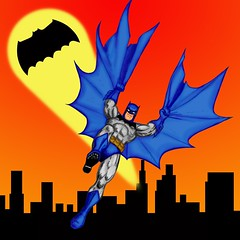 The Dark Knight Returns to Gotham. (thedorkbatward) Tags: art illustration photoshop drawing popart batman dccomics gotham penandink frankmiller gothamcity digitalcolor batmanreturns thebatman thedarkknight thedarkknightreturns detectivecomics thedarkknightrises batmanvsuperman grandpabatman oldmanbatman