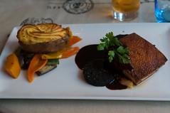 10 Hour Slow Roast Pork Belly (edson.ac) Tags: ireland food galway apple vegetables restaurant jus pudding pork potato mustard maxwells iso320 f40 160 compote nex6 sonynex6 sel35 edsonchilundo