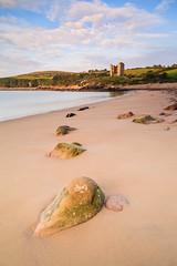 Minard Castle 2 (Graham Daly Photography (ASINWP)) Tags: ocean longexposure ireland sea beach coast landscapes rocks seascapes dingle coastal dinglepeninsula countykerry minardcastle minard leefilters 5dmarkii 5dmark2 canon5dmarkii grahamdalyphotography dingletripseptember2014