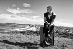 Pep-C (noiseinwonderland) Tags: blackandwhite music beach newcastle photography australia speaker hiphop noisey woopwoop pepc noiseinwonderland whoispepc