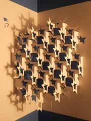 nue d'toiles / constellations (kiridarchi) Tags: photo origami kirigami popup moucharabieh pli papierpli
