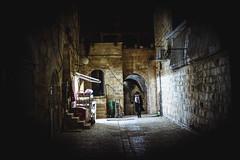02.2014   Jerusalem, Israel (Sabine Scheller) Tags: street travel light people color shop night canon dark walking photography israel jerusalem 7d jew jewish quarter 2014 1755mm sabinescheller