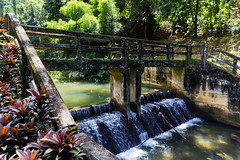 Raman Waterfall Forest Park (WhiteWith0ne) Tags: bridge thailand forestpark phangnga ramanwaterfall