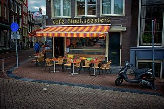 A common scene in Amsterdam