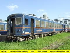 7A-2007 - Tutuban (Manila) (alcogoodwin) Tags: carriage philippines railway trains manila passenger gauge narrow philippine carriages prhs philippinenationalrailways pnr tutuban tayuman philippinerailwayshistoricalsociety 7a2007